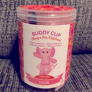 Allegra The Elephant Buddy Clip